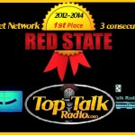 Red State Talk Radio voted Top Internet Network for 3 consecutive years!