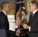 Obama with FCC Chairman Tom Wheeler