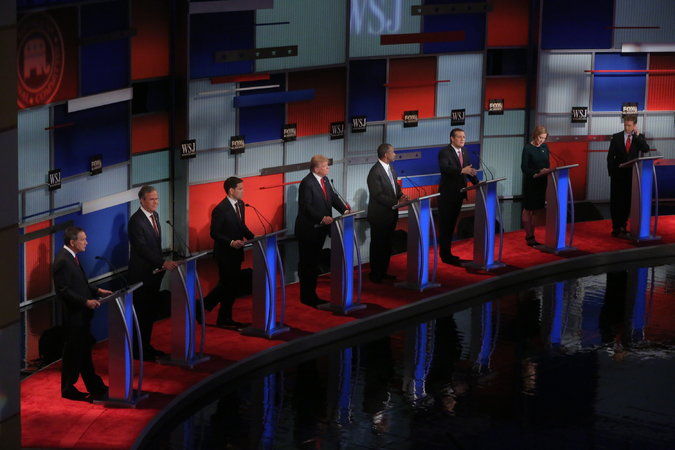 In Republican Debate, Candidates Battle Sharply on Immigration – The New York Times