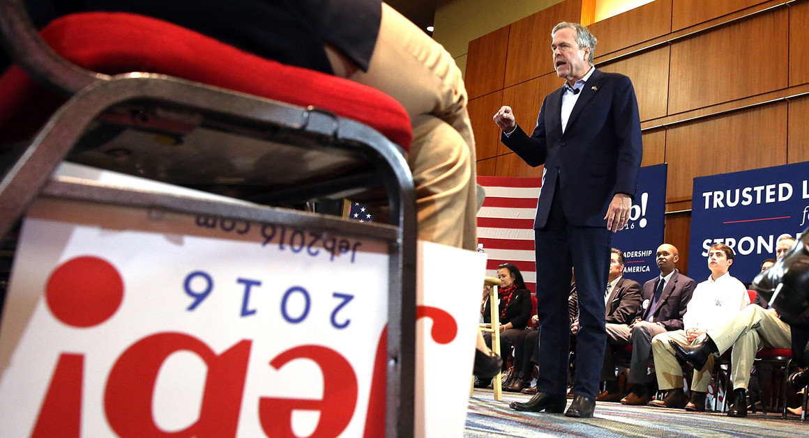 Bush machine running on fumes – Politico