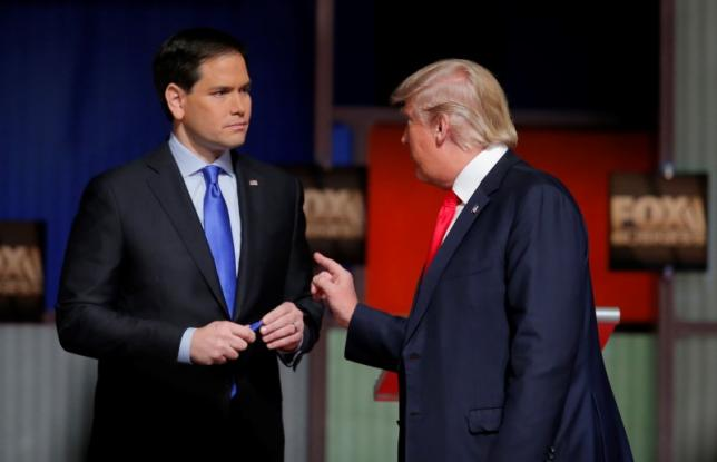 Trump, Rubio likely targets in eighth Republican presidential debate – Reuters