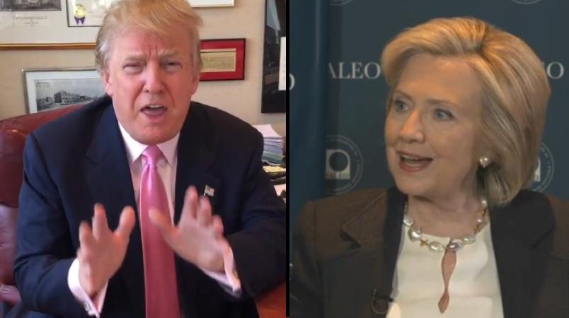 Trump and Hillary Pivot to November