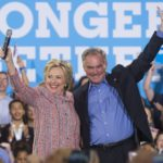 Hillary Clinton Picks  VA Senator Tim Kaine as her Running Mate
