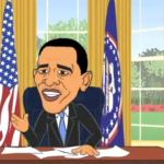 FOR THE HISTORY BOOKS: Barack Obama's Cartoonish Presidency