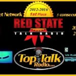 Red State Talk Radio rated #1 by Top Talk Radio for 2016