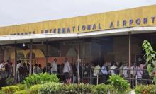 International Airport in Monrovia, Liberia