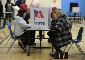 voting in the Virginia Gubernatorial elections