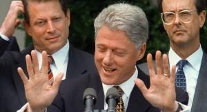 Bill Clinton (a.k.a. Slick Willy)