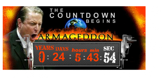 Limbaugh's Al Gore Armageddon Clock About To Hit Zero After Ten Years – The Daily Caller