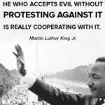 NOT TRUE! Evil Prevails because Good People Do Nothing!