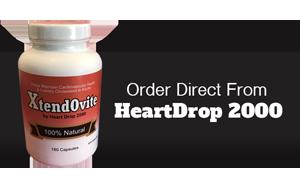 Bottle heartdrop